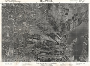 Halswell / this map was compiled by N.Z. Aerial Mapping Ltd. for Lands & Survey Dept., N.Z.