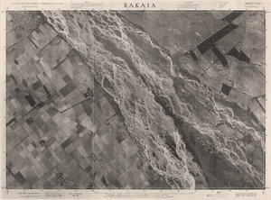 Rakaia / this mosaic compiled by N.Z. Aerial Mapping Ltd. for Lands and Survey Dept., N.Z.
