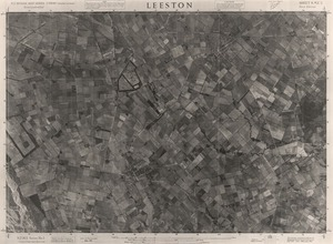 Leeston / this mosaic compiled by N.Z. Aerial Mapping Ltd. for Lands and Survey Dept., N.Z.