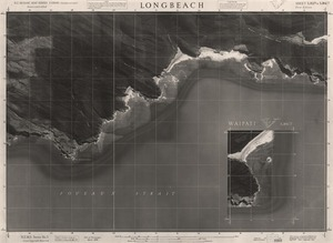 Longbeach / this mosaic compiled by N.Z. Aerial Mapping Ltd. for Lands and Survey Dept., N.Z.