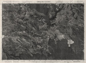 Ohurutehe / this mosaic compiled by N.Z. Aerial Mapping Ltd. for Lands and Survey Dept., N.Z.