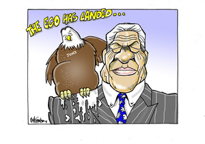 Winston Peters and Shane Jones - the ego has landed