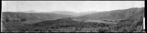 Panorama of Kamahi Estate, Stokes Valley (Lower end of valley)