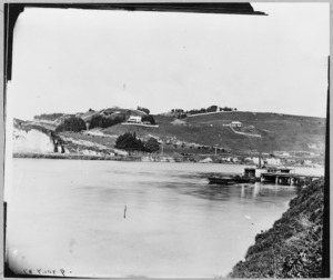 View of the Wanganui River and Durie Hill