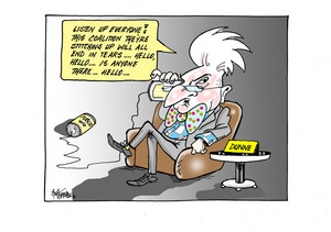 Peter Dunne warns against the coalition