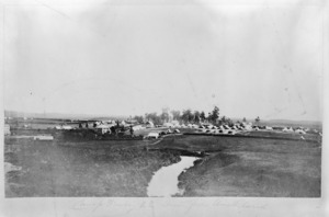 Military camp at Drury, Auckland