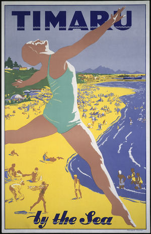 New Zealand Railways. Publicity Branch :Timaru by the sea. Railways Studios [1936-1937].