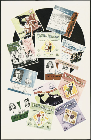 Advertising pamphlet - Kiwi Gramophone Records