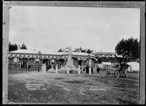 Te Whiti's monument, Parihaka, Taranaki - Photograph taken by David Duncan