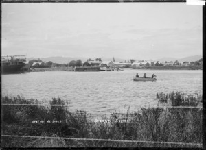 View of Waioeka River and Opotiki