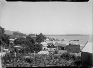 View of Maori settlement at Ohinemutu