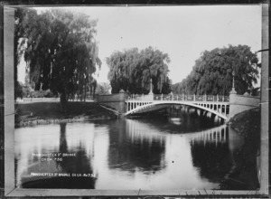 Manchester Street Bridge, Christchurch, across the Avon River