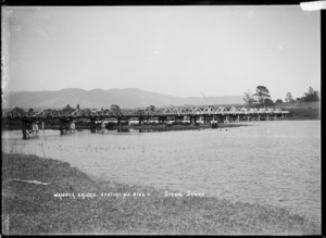 View of the bridge across the Waioeka River, Opotiki