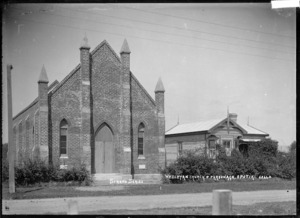 Wesleyan Church and parsonage, Opotiki