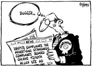 Hubbard, James, 1949- :Bugger ... Dominion, 24 March 1999.