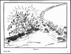 Scales, Sydney Ernest, 1916-2003 :Poison Ivy. Otago Daily Times, 25 July 1959.
