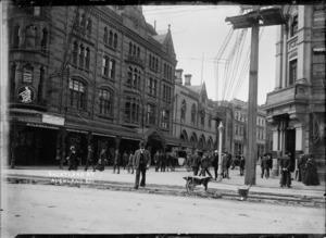 Corner of Shortland Street and Queen Street