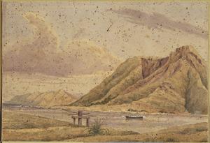 [Smith, William Mein] 1799-1869 :Ti Awaiti boat harbour. [1850s or 1860s]
