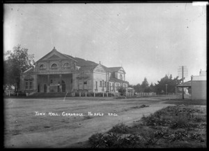 Town Hall at Cambridge, circa 1910s
