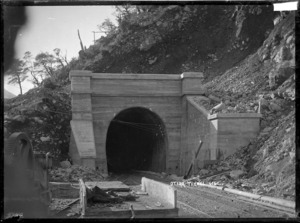 Railway tunnel at Bealey Flat
