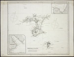 Chatham Islands [cartographic material] / surveyed by S. Percy Smith ; Auckland Survey Department, 1868.