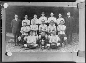 Mental Hospital Football Club, Porirua, Wellington, soccer team of 1913