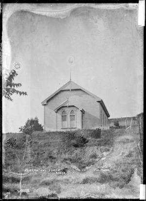Kawhia Congregational Church - Photograph taken by Jonathan Ltd