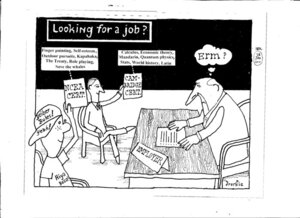 Looking for a job? 28 January 2011