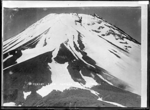 Mt Egmont from Fanthams Peak - Photograph taken by Harry Graham