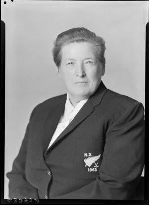 Administration Member of NZ Women's Hockey Team