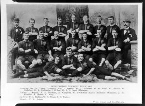 Wellington Touring Team of 1897