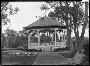 Band rotunda at Point Erin Park, Auckland
