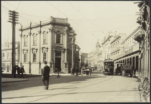 Muir and Moodie, fl 1898-1916 (Firm, Dunedin) :Photograph of Lambton Quay, Wellington