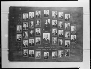 Members of the Legislative Council, Parliament of New Zealand, 1943