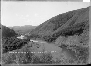 Waiaua River and new bridge, Bay of Plenty