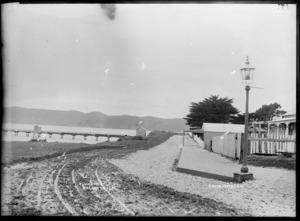 Cliff Street, Raglan - Photograph taken by Gilmour Brothers