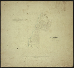 [Creator unknown] :Native town Takapuahia, Porirua [ms map]. [1847?]