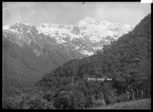 View over the Otira Gorge