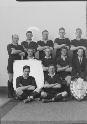 All Black rugby team, c.1928-1929