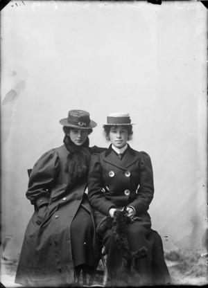 Elizabeth Robson and Agnes Robson