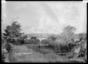 View of Raglan from Nihi Nihi, 1911 - Photograph taken by Gilmour Brothers