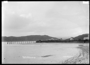 Raglan East from end of Cliff Street, 1910 - Photograph taken by Gilmour Brothers
