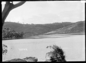 Waitangirua Bay, Raglan, 1910 - Photograph taken by Gilmour Brothers