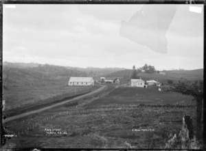 Main Street, Te Mata - Photograph taken by Gilmour Brothers