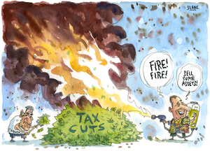 """""""Fire! Fire! Sell some assets!"""" 7 February 2011"""