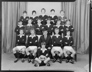 Wellington College, 1970 2A rugby union team
