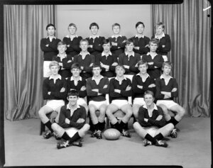 Wellington College 2A rugby team of 1969