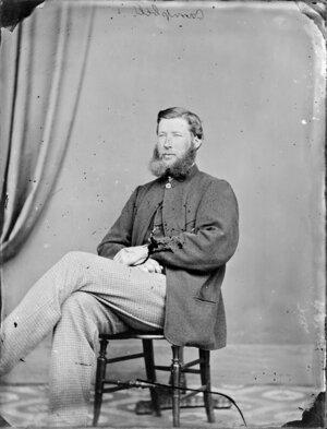 Photograph of Mr Campbell, Wanganui district