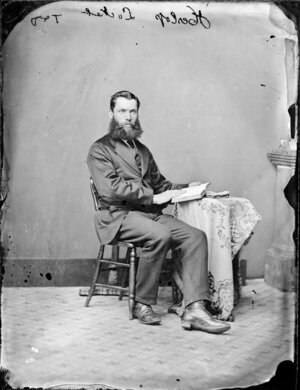Mr Heslop - Photograph taken by Thompson & Daley