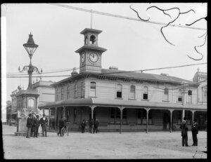 Post Office, corner Victoria Avenue and Ridgeway Street, Wanganui